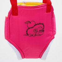 Прыгунки 1 'Ежик', цвет розовый (прыгунки, качели, тарзанка)