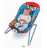 Детское кресло-качалка Fitch Baby с игрушками и вибрацией, фото 2