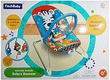 Детское кресло-качалка Fitch Baby с игрушками и вибрацией, фото 3