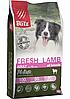 Низкозерновой сухой корм для собак всех пород Blitz Holistic Fresh Lamb Adult Dog (Low Grain) ягненок