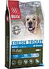 Низкозерновой сухой корм для собак всех пород Blitz Holistic Fresh Trout Adult Dog (Low Grain) свежая форель