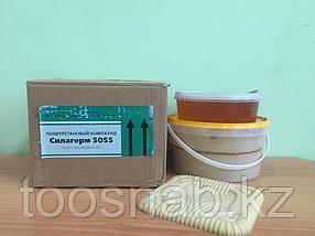 Полиуретан 5055 (твердость по шору 55) (фасовка 1 кг + 0,5 кг) для изготовления гибких литьевых форм Алматы