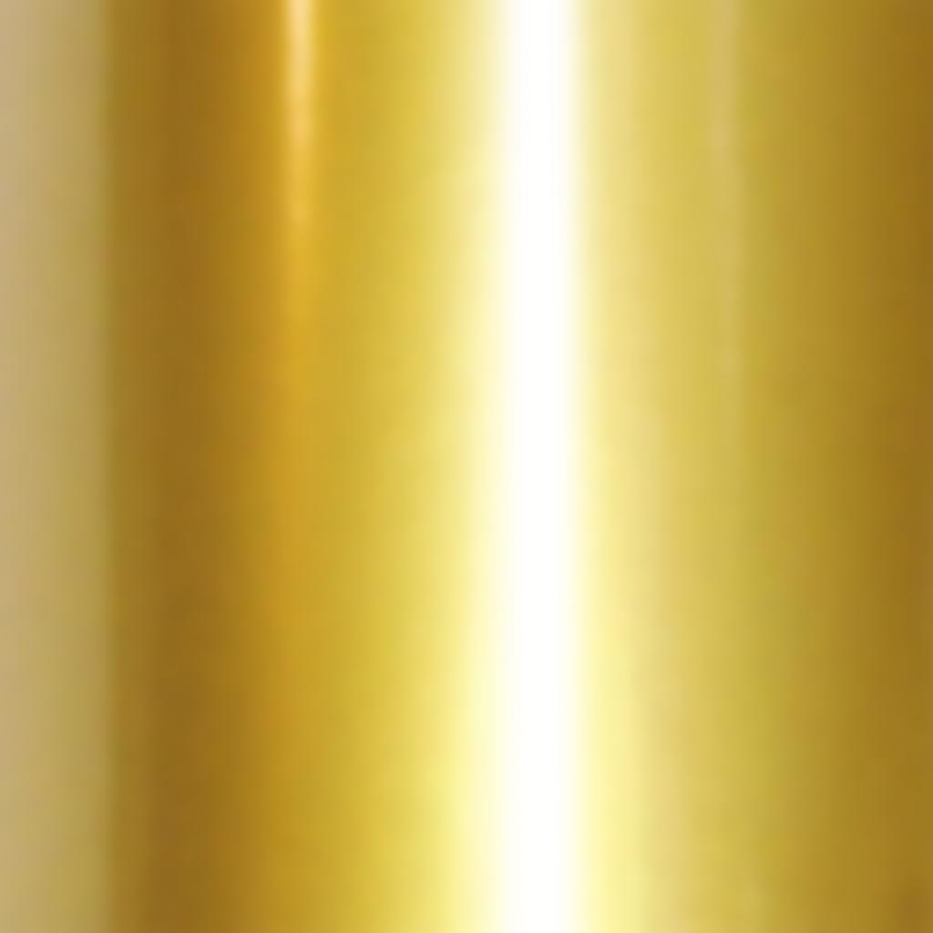 Алюминиевая композитная панель 1,22х2,44 Зеркальный золото 3мм 0,18мкм