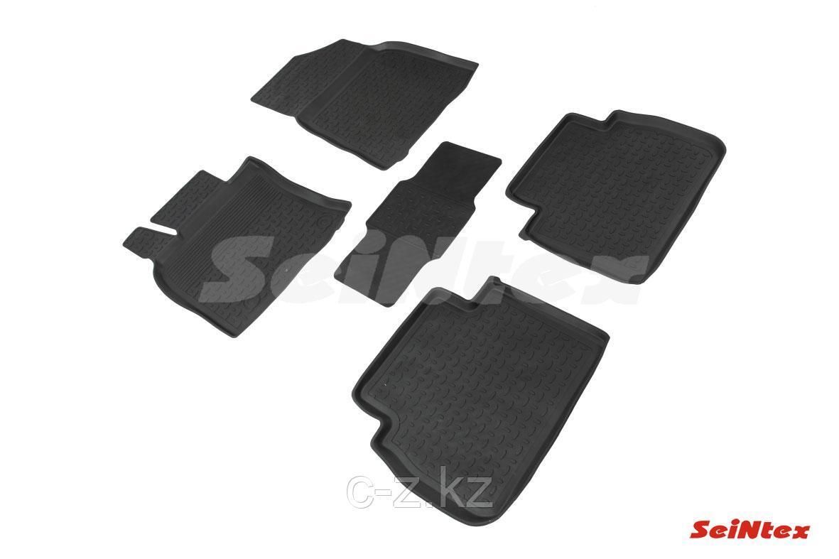Резиновые коврики с высоким бортом для Toyota Camry 70 (2018-н.в.)