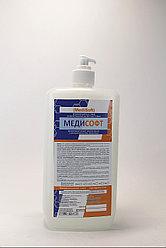 МедиСофт-  дезинфицирующее жидкое мыло с антисептическим свойством .1 литр .РК