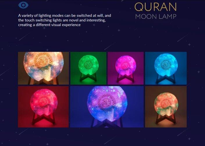 Лампа читающая Коран - QB512 (Галактика) - фото 6