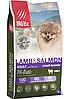 Беззерновой сухой корм для собак мелких пород Blitz Holistic Lamb & Salmon Adult Dog ягненок лосось