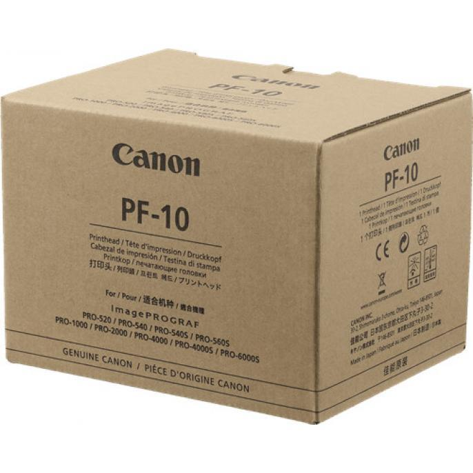 Canon печатающая головка PF-10 (0861C001) PRO-6000S PRO-2000 PRO-1000 PRO-4000 PRO-4000S  Оригинал