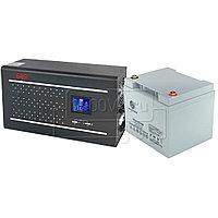 Комплект для защиты газовых котлов ИБП East Home 600W + 1 АКБ 45 Ач