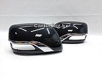 Автомобильные крышки зеркал LOUNGE с хромом на Toyota Land Cruiser 200 2012-2020гг.