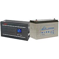 Комплект для защиты газовых котлов ИБП East Home 600W + 1 АКБ 100 Ач