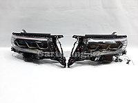 Фары дизайн Lexus на Land Cruiser Prado 150 2018-2021