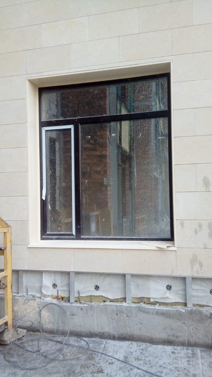 Монтаж отливов на окна (производство)