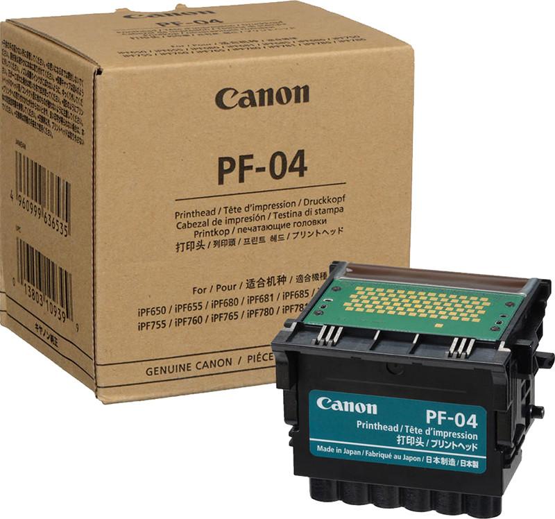 Печатающая головка Canon PF-04 для плоттеров imagePROGRAF iPF 670/770/650/750 3630B001 (AA) оригинал