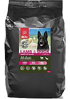 Беззерновой сухой корм для собак всех пород Blitz Holistic Lamb & Duck Adult Dog ягненок утка