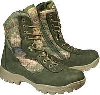 Ботинки летние ХСН Тактика ELITE (нубук, камбрель+airtex, хаки), размер 45