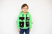 Толстовка детская с накладными карманами
