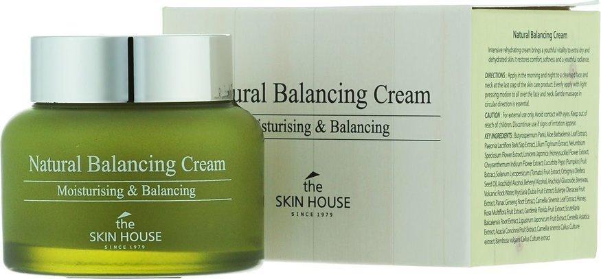 The Skin House Natural Вalancing Cream. Балансирующий и увлажняющий крем с экстрактом алоэ