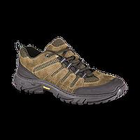 Ботинки Летние ХСН Стрит (подошва Vincere, кожа, камбрель, черный/хаки), размер 45