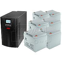 Комплект для защиты газовых котлов ИБП East EA900Pro-H 2kVA + 6 АКБ 45 Ач