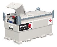 Мини АЗС для дизельного топлива 220В INFRACUBE IC20 заправочный модуль
