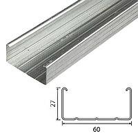 Профиль потолочный ПП 60х27 0,45 мм