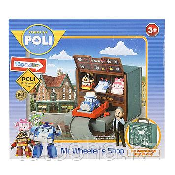 Robocar Poli Мастерская Уиллера (без машин) , 83247