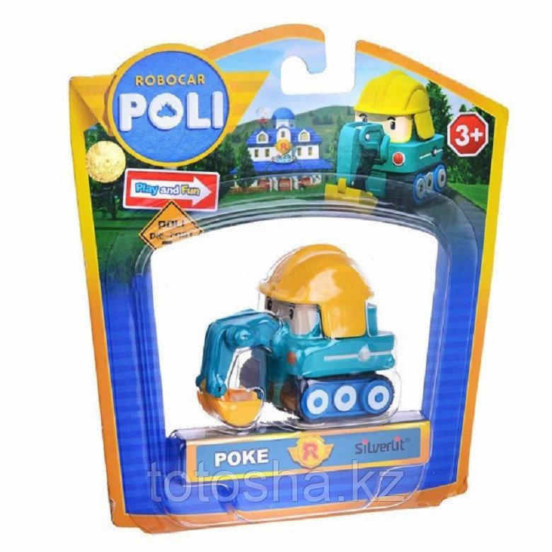 Robocar Poli Мини Пок металлическая машинка 6 см , 83177