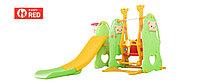 Детский игровой комплекс - горка и качели. Kaspi red. Рассрочка