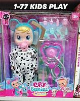 Детская игрушка кукла говорящая пупс с набором доктора модель NO.AK-12A