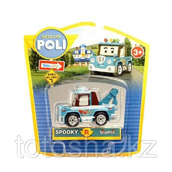 Robocar Poli Спуки металлическая машинка 6 см , 83166