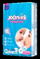 Подгузники Joonies Premium Soft подгузники M 58, 6-11 кг