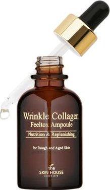 The Skin House Сыворотка ампульная с коллагеном Wrinkle Collagen Feeltox Ampoule