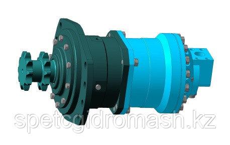 Гидромотор с тормозом ТГМ.01М.000-01 для мини-погрузчиков ЧЕТРА МКСМ.