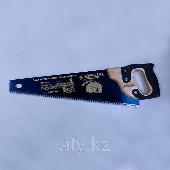 Ножовка по дереву (пила 400мм) деревянная рукоятка