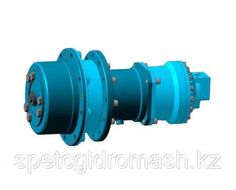 Гидромотор-колеса 2-х диапазонные со стояночным тормозом и устройством для подкачки шин ГМК.500-2.000 ТШ