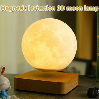 Магнитный Подвесной ночник в виде Луны