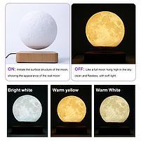 Магнитный Подвесной ночник в виде Луны, фото 3