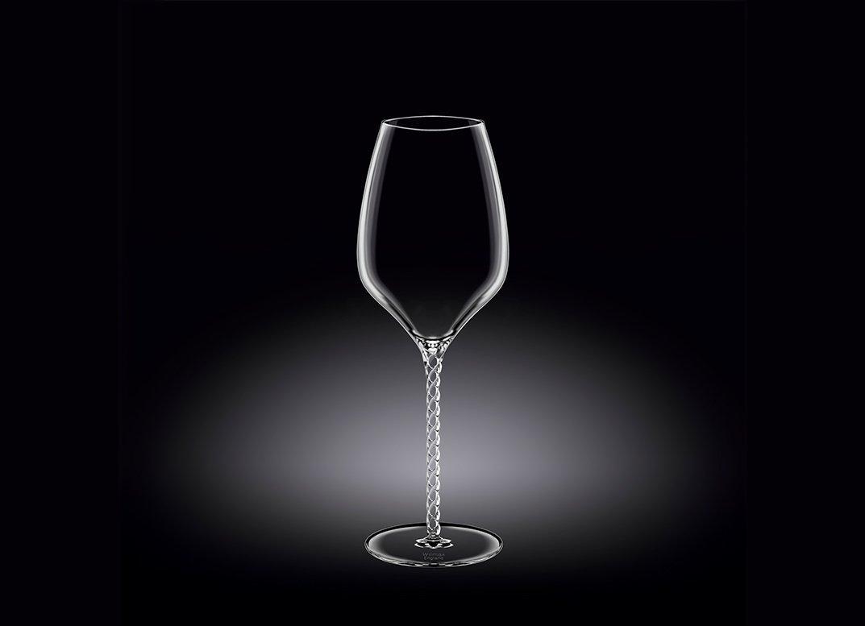 Набор бокалов 600 мл от Юлии Высоцкой Wilmax для вина 2 шт цв.уп.