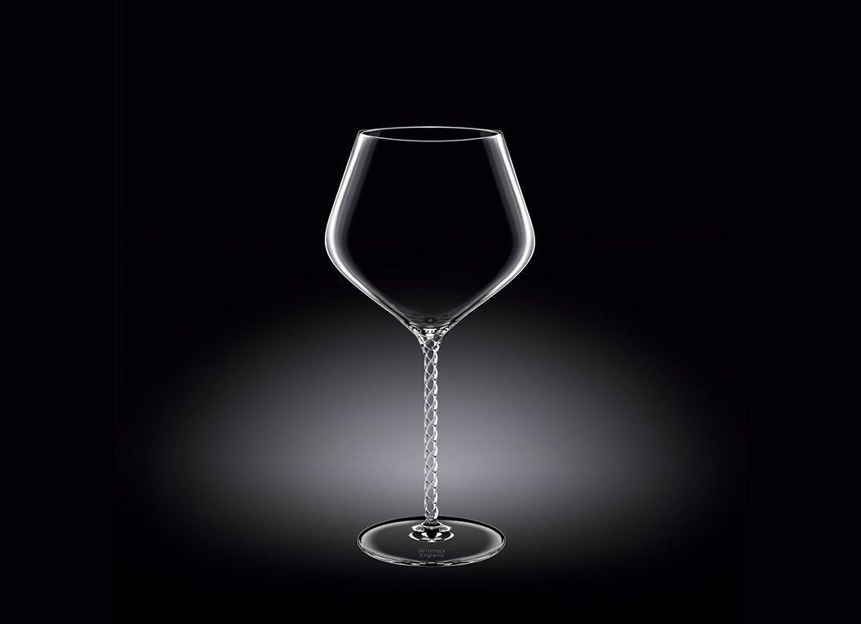 Набор бокалов 950 мл от Юлии Высоцкой Wilmax для вина 2 шт цв.уп.