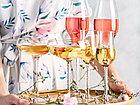Набор бокалов 300 мл от Юлии Высоцкой Wilmax флюте для шампанского 2 шт цв.уп., фото 4