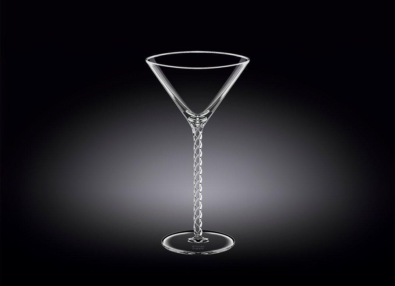 Набор бокалов 200 мл от Юлии Высоцкой Wilmax для мартини 2 шт цв.уп.
