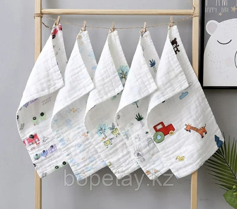 Муслиновое полотенце