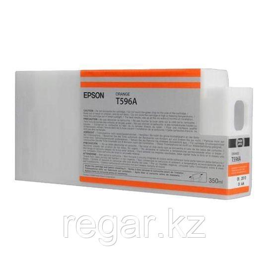 Картридж Epson C13T596A00 I/C SP 7900 / 9900  : Orange 350 ml