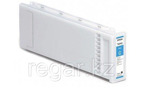 Картридж Epson C13T694200 T3000/5000/7000, Т3200/5200/7200 голубой