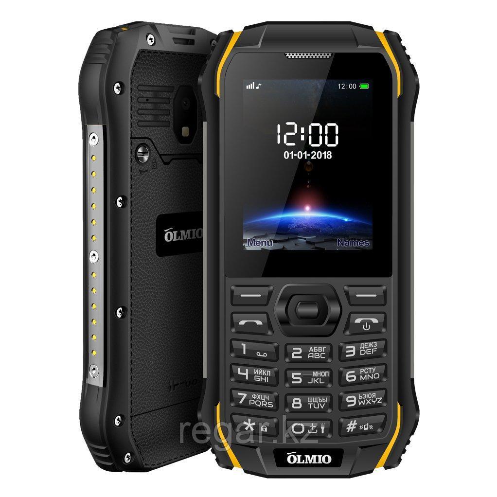 Мобильный телефон Olmio X05 черный-желтый