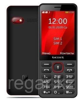 Мобильный телефон Texet TM-309 черно красный