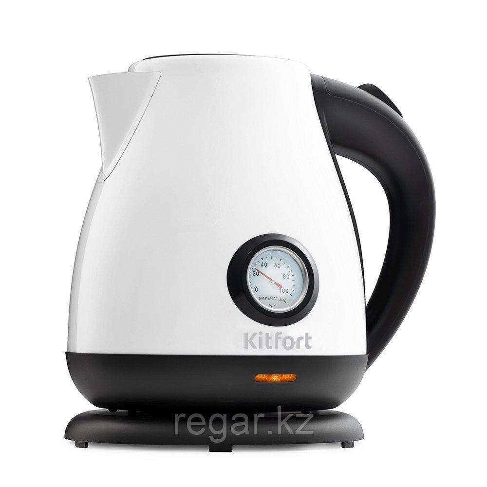 Электрический чайник Kitfort KT-642-3 белый