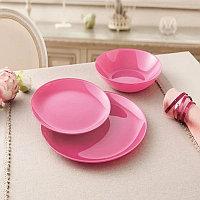 Столовый сервиз Luminarc Arty Pink 18 предметов на 6 персон