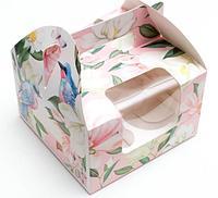 Коробочка для капкейков Present, 16 × 16 × 10 см